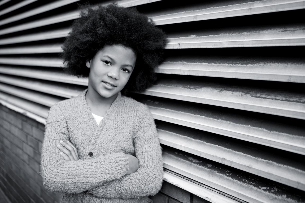 Clare J Sheridan Photography - Monochrome young girl