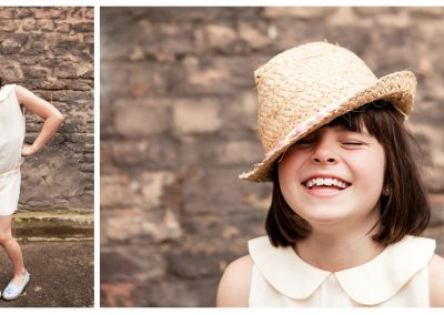 Clare J Sheridan Photography - Girl wearing straw hat